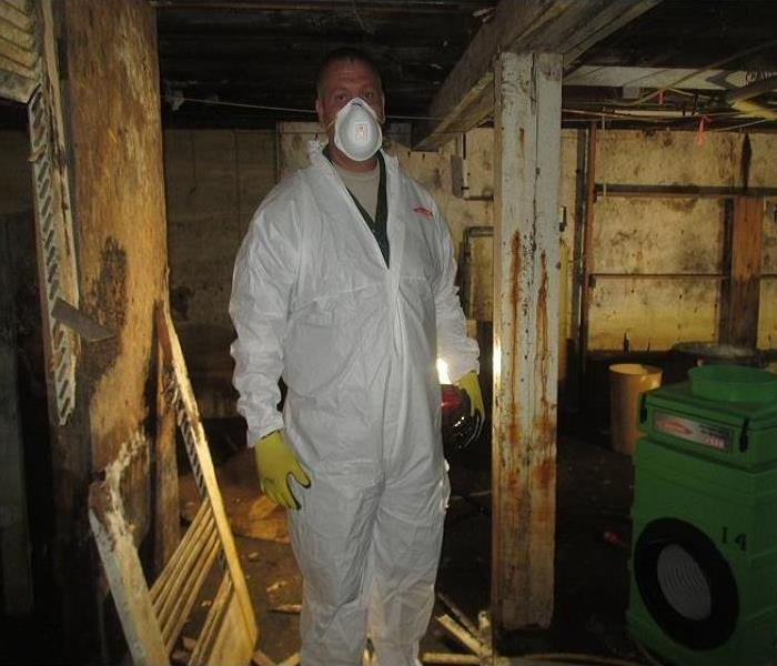Severe Mold to Basement in Mantua, OH